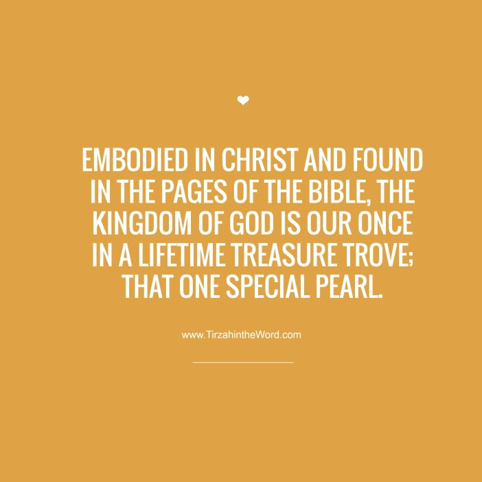 The Kingdom of God is our treasure trove